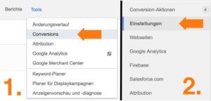 Google AdWords News geräteübergreifende Conversion im Report